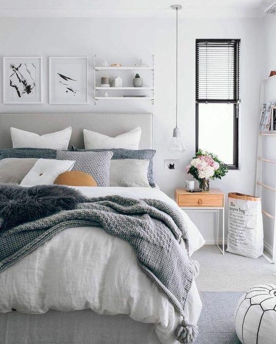 1001 Ideas De Como Pintar Un Dormitorio En Tu Casa Dormitorios Decoracion De Interiores Decoraciones De Dormitorio