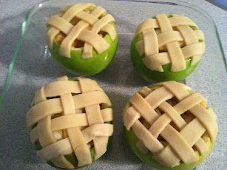 Apple Pie in an apple!