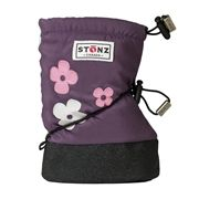 Stonz Wear Baby Booties keep feet warm and dry.  So great for putting on over top of baby's shoes - quick and easy!  No fighting! Plus, Stonz has the BEST Customer Service EVER!