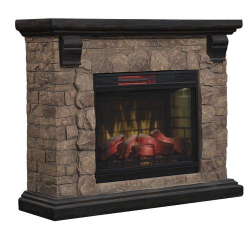 Chimneyfree 50 Yukon Mantel Electric Fireplace In 2020 Built