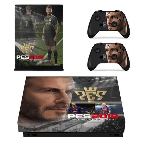Pes 2019 David Beckham Soccer League Xbox One X Console Skin Xbox One David Beckham Soccer Xbox