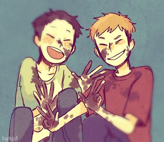 Jean and Marco cuteness