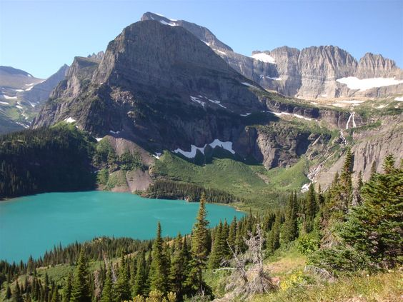 Hike to Grinnell Glacier - Glacier National Park
