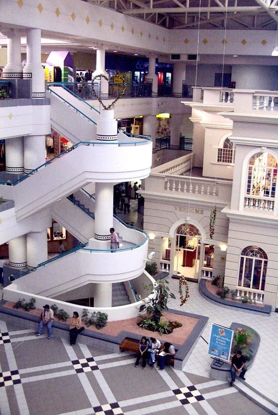 Galerias Mall in San Salvador, El Salvador  The only mall in the world built around the family mansion!