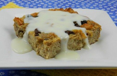 Bread Pudding Recipe. DH absolutely loved the Amish version. We easily ate two bowlfuls in one seating. Nom nom nom...