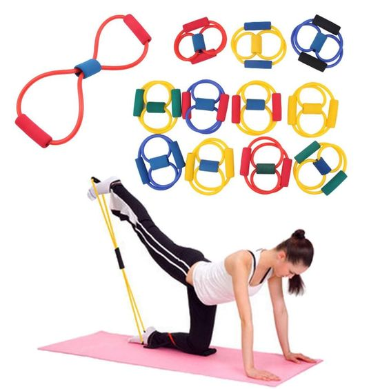 Resistance Training Bands Tube Workout Exercise for Yoga 8 Type Body Building Fitness Equipment Tool $11.99  https://hard-core-sports.com/products/resistance-training-bands-tube-workout-exercise-for-yoga-8-type-body-building-fitness-equipment-tool?utm_cam