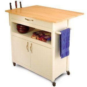 #5: Catskill Craftsmen Drop Leaf Utility Cart