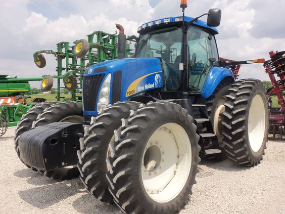 Front Duals For Tractors : New holland t tractor with front duals engine hp