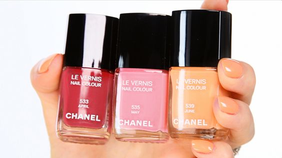 Chanel Spring 2012 colors!