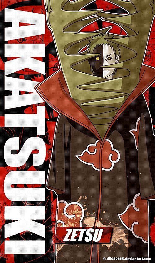 El Pin Original De Zetsu Y Su Perro Anime Akatsuki Naruto Akatsuki Funny Naruto Wallpaper
