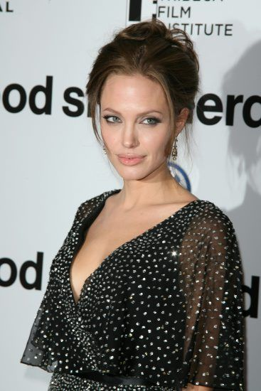 Angelina Jolie The World Premiere of THE GOOD SHEPHERD, at the Ziegfeld Theatre, New York City. Dece...