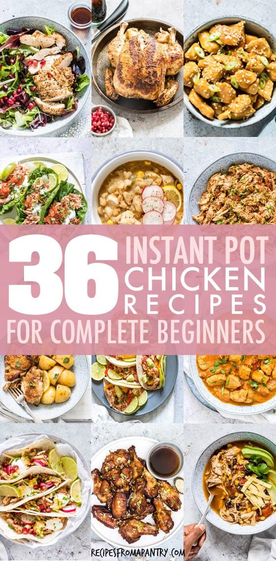 This Is The Ultimate List Of Instant Pot Chicken Recipes From Chicken Breasts Frozen Chicken Recipes Healthy Chicken Recipes Pressure Cooker Recipes Chicken