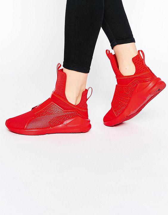 Puma Fenty Red