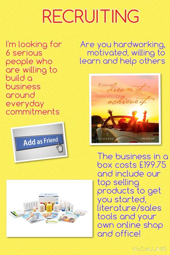 Want to own your own business? More income? Own hours?