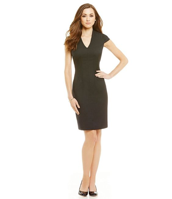 Antonio Melani Darla Twill Sheath Dress