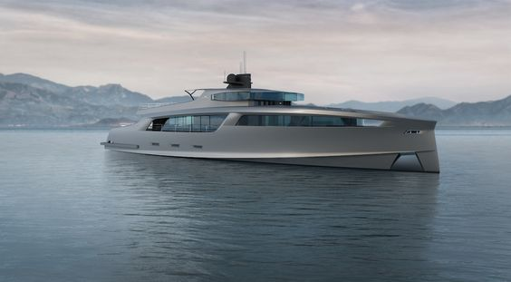 Imāra Yacht Concept By Motion Code Blue Design Concept - Giga yacht takes luxury oil tanker sized extreme