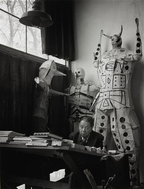 Diego Rivera, Mexico City, 1948 -by Gisèle Freund