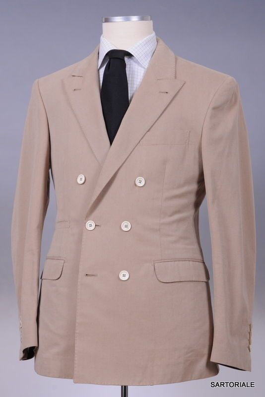 BRUNELLO CUCINELLI Tan Cashmere Jacket EU 48 NEW US 38 36