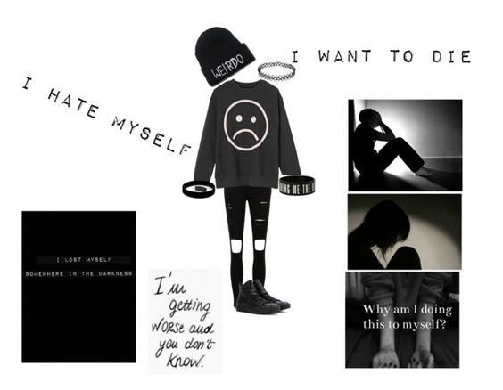 """""""Can I just die already...?"""" by emopotato1029 ❤ liked on Polyvore featuring art"""