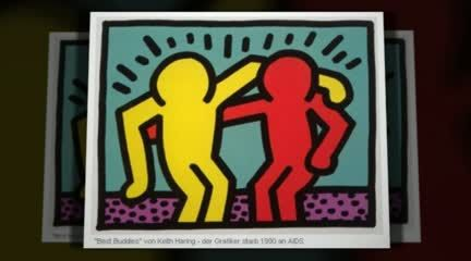 Keith Haring 3:45 min video. Sharing info that elem. kids can understand