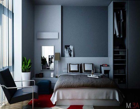 Dormitorios pintados de azul buscar con google for Aplicacion para buscar habitacion