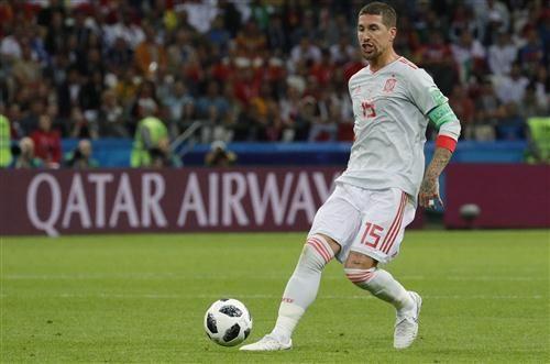 Sergio Ramos Spain Footballer In Fifa World Cup 2018 Hd Wallpaper World Cup Fifa World Cup World Cup 2018