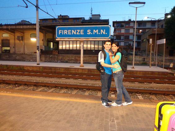 Firenze: train station