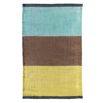 Yellow brown turquoise rug living room pinterest - Brown and turquoise living room rugs ...