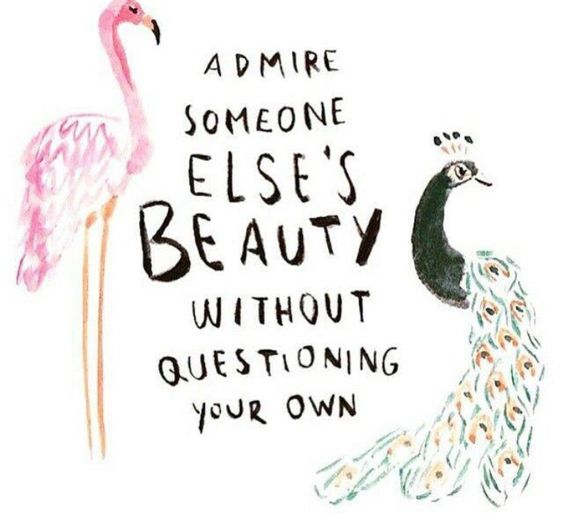 It's not about comparing yourself to others. #SkinnyMs: