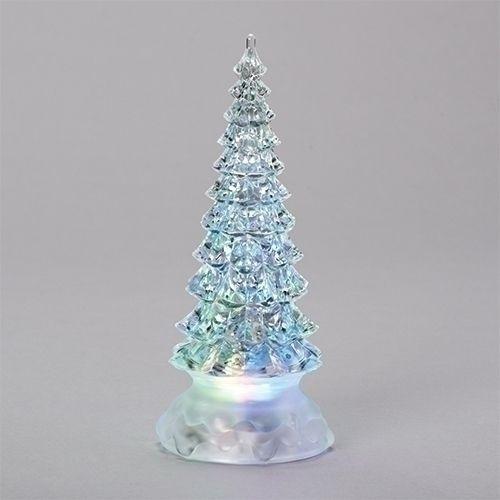 Christmas Tree Led Glitter Dome 8 5in Glitter Dome Led Christmas Tree Tabletop Christmas Tree