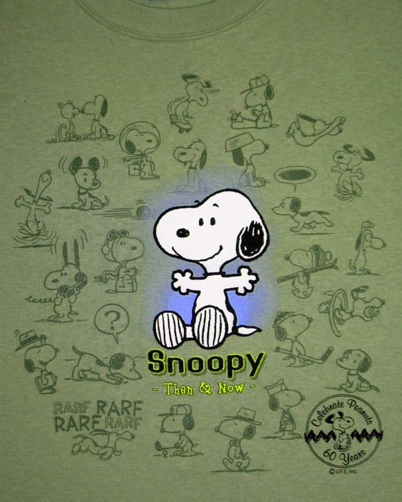 Snoopy Then and Now