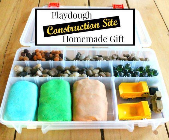 Construction dough set