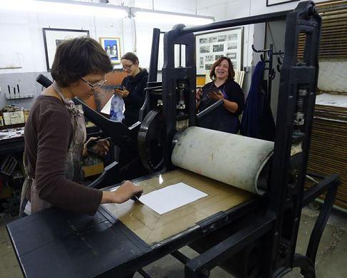 Grafikdruckwerkstatt im WERK 2