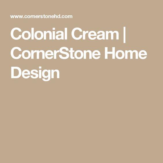 Colonial Cream | CornerStone Home Design | Counter tops ...