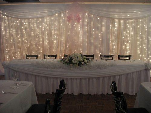 White Wedding Light Curtains Dream Wedding Ideas Pinterest White Weddings Curtains And Lights