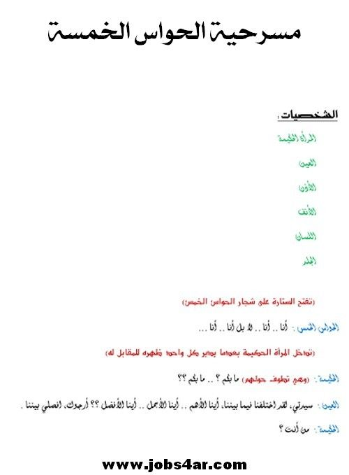 مكتبة مسرحيات أطفال الروضة مسرحيات خاصة برياض الاطفال مسرحيات مكتوبة لرياض الاطفال Arabic Alphabet For Kids Alphabet For Kids Education