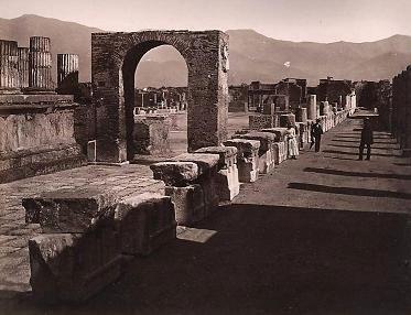 Temple of Jupiter - AD79eruption