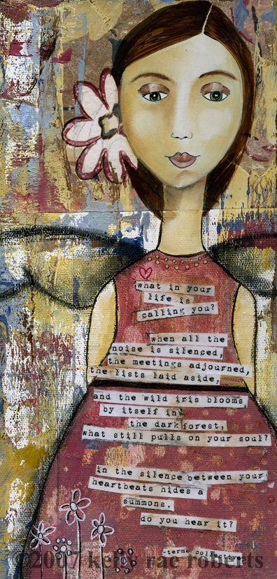Kelly Rae Roberts : Portfolio
