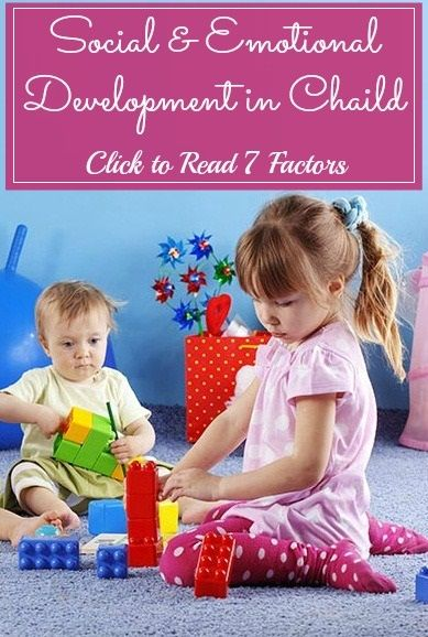 Emotional Development Toys For Toddlers : Emotional development factors and child on