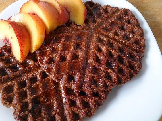 Suzanne's Kitchen : Brownie waffles