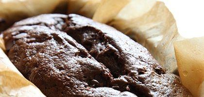 GF chocolate hazelnut zucchini bread