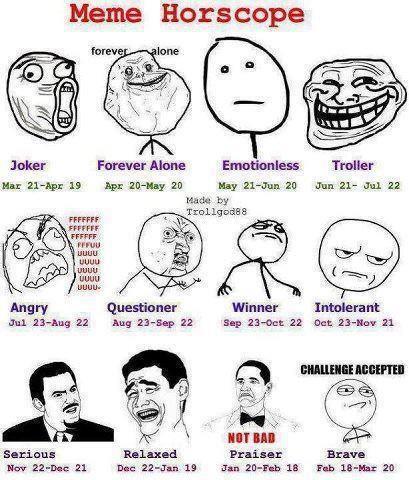 meme horoscope