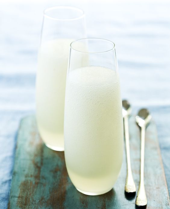 Vodka Prosecco Sorbet | Thermomix | In the Mix | #inthemixcookbook