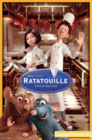 G 8-88/2344 - La gran película de Ratatouille [Imagen de http://www.dibujosinfantiles.org/animacion/la-gran-pelicula-de-ratatouille.php]