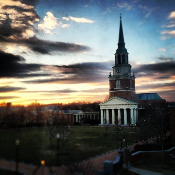 Wait Chapel @ Wake Forest University
