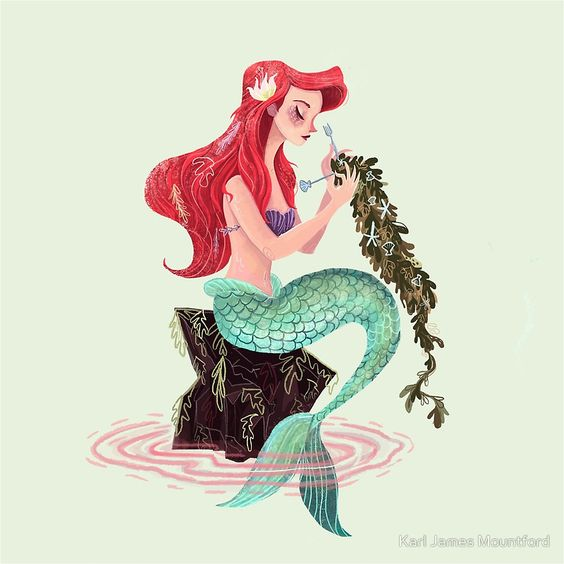 Mermaid skills by Karl James Mountford: