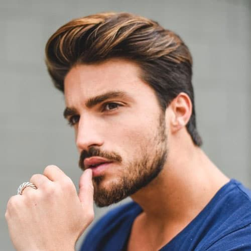 Short Sides With Textured Quiff And Beard Mexican Hairstyles Boy Hairstyles Latino Men