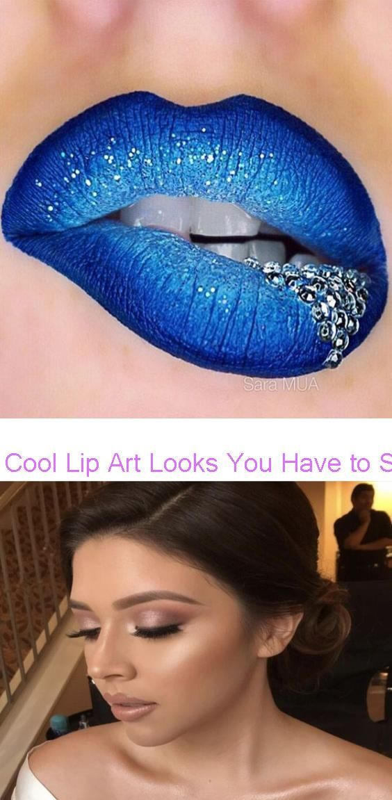 Cool Lip Art Looks You Have To See To Believe Thefashionspot How To Achieve A Natural Bridal Look With These Easy In 2020 Wedding Makeup Tips Nice Lips Bridal Looks