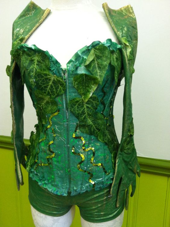 Poison Ivy Costume created by LOLITA ALONZO by lolitaalonzo