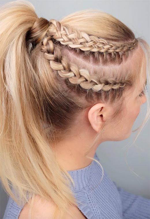 20 Gorgeous Braided Hairstyles For Long Hair Page 8 Of 9 Trend To Wear Hairstyle Hair Styles Luxy Hair